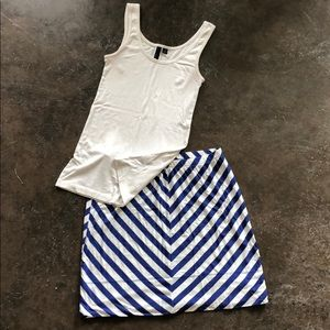 Tank and Skirt Outfit!